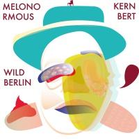 Vektorgrafik, die eine abstrakte Person zeigt, die einen Melonenhut auf dem Kopf hat.