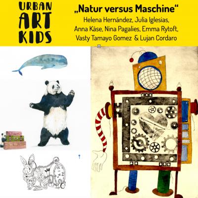 Lange Nacht der Illustration 2019 Teilnehmerbild von Urban Art Kids & Guests