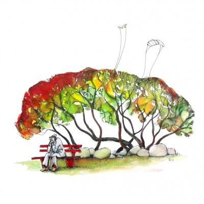 Lange Nacht der Illustration 2019 Teilnehmerbild von Antje Püpke