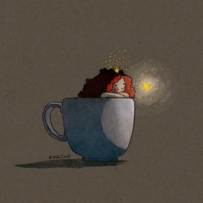 Lange Nacht der Illustration 2019 Teilnehmerbild von Friederike Ablang